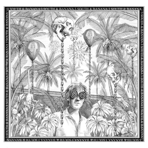 Omslag - Låndragen psykedelisk popmusik